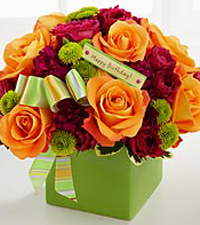 The Birthday Bouquet By Ftd Vase Included