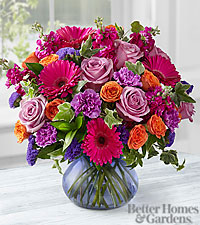 The FTD® Life in Bloom Bouquet by Better Homes and Gardens® - VASE INCLUDED