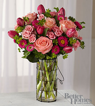 The Better Homes and Garden® Happy Hues Bouquet - VASE INCLUDED