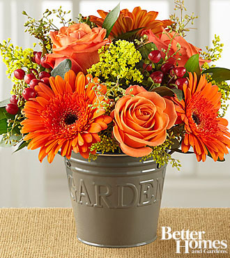 The FTD® Warm Welcomes Bouquet by Better Homes and Gardens® - VASE INCLUDED