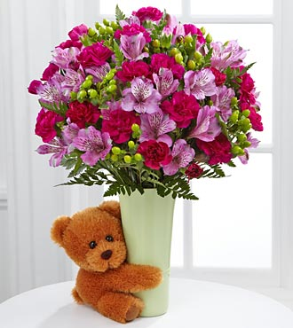 Le bouquet Big Hug® - VASE INCLUS