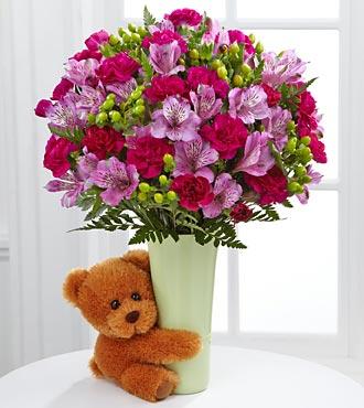 Le bouquet Big Hug® par FTD® - VASE INCLUS