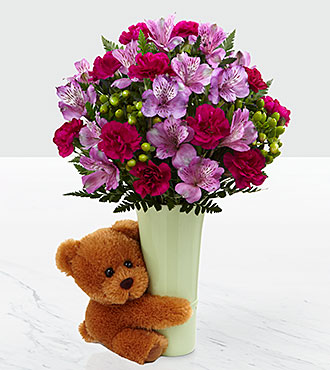 The big hug bouquet by ftd vase included for Big bouquets of flowers