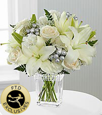 The FTD® Intriguing Grace™ Bouquet - VASE INCLUDED
