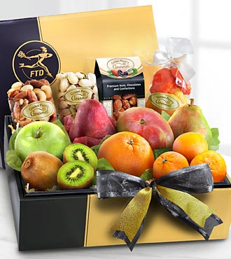 The FTD® Gourmet Fruit & Nuts Gift Box - BETTER