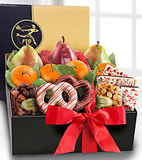 The FTD® Holiday Gourmet Gift Box