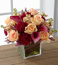 The Share My World Bouquet - VASE INCLUDED