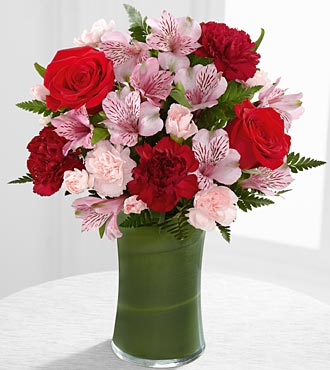 The Love in Bloom™ Bouquet by FTD® - VASE INCLUDED