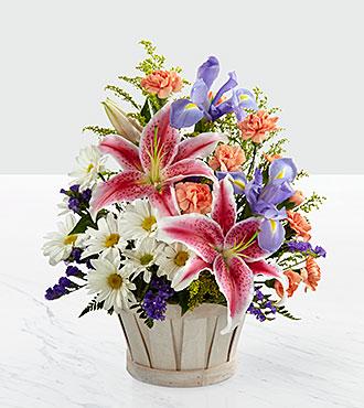 Le bouquet Wondrous Nature™ par FTD® - PANIER INCLUS