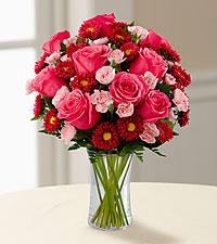 Le bouquet Precious Heart<sup>&trade;</sup> de FTD® - VASE INCLUS