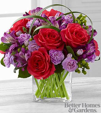 Le bouquet Be Bold<sup>&trade;</sup> de FTD® par Better Homes and Gardens® - VASE INCLUS
