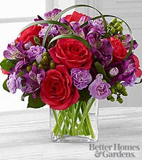 Le bouquet Be Bold<sup>&trade;</sup> de FTD® par Better Homes and Gardens® - VASE INCLUS