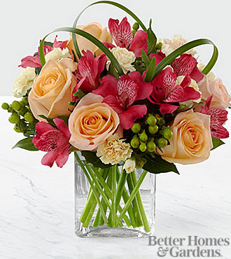 Le bouquet All Aglow™ de FTD® par Better Homes and Gardens® - VASE INCLUS