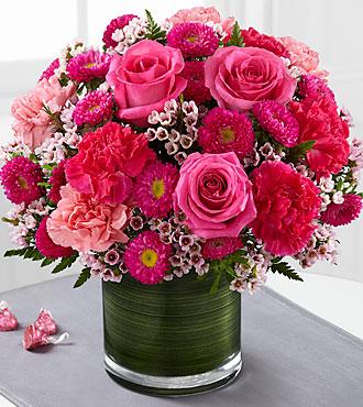The FTD® Pink Pursuits™ Bouquet