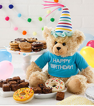 Mrs. Fields® Happy Birthday Bear