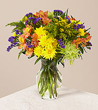 Marmalade Skies Bouquet