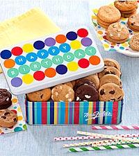 Mrs. Fields® Happy Birthday Balloon Tin - Good