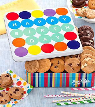 Mrs. Fields® Happy Birthday Balloon Tin - Better