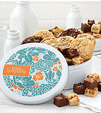 Mrs. Fields® Deepest Sympathy Cookies - 8 Cookies & 36 Brownie Bites
