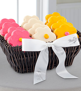 Mrs. Fields® Spring Frosted Cookie Basket