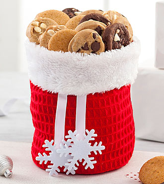Mrs. Fields® Santa Bag of Goodies