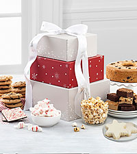 Mrs. Fields® Elegant Holiday Treats Tower