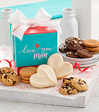 Love You Mom Mini Cookie Ribbon Box Nibbler