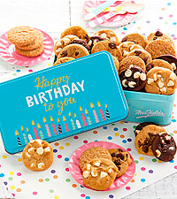 Mrs. Fields® Happy Birthday 30 Nibblers® Tin