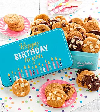 Mrs. Fields® Happy Birthday 30 Nibblers® Tin