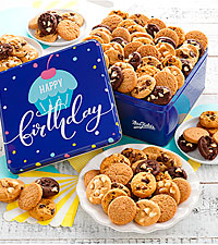 Mrs. Fields® Happy Birthday 102 Nibblers® Tin