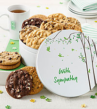 Mrs. Fields® 12 Cookie With Sympathy Tin