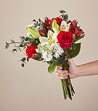 Original No Vase Red Velvet Bouquet
