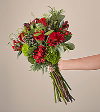 Deluxe Spruced Up Bouquet with Vase