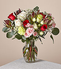 Deluxe Gingersnap Bouquet with Vase