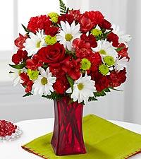 Le bouquet Cherry Sweet de FTD® - VASE INCLUS