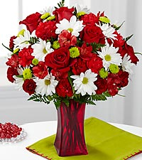 Le bouquet Cherry Sweet de FTD® - VASE INCLUS