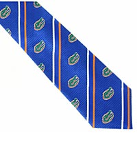 University of Florida® Gators® Woven Silk Tie