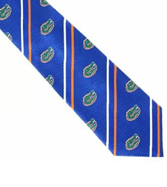 University of Florida® Gators® Woven Silk Tie