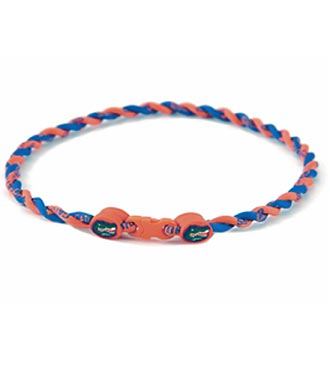 University of Florida® Gators® Titanium Sport Necklace