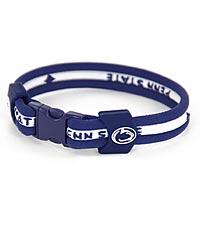 Penn State® Nittany Lions® Titanium Sport Bracelet