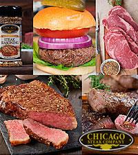 Chicago Steak Company™ Classic American Griller