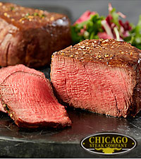 Chicago Steak Company™ Premium Angus Filet Mignons