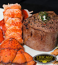 Chicago Steak Company™ Surf & Turf