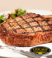 Chicago Steak Company™ Premium Angus Bone-In Ribeyes