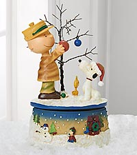 Charlie Brown and Snoopy Music Box