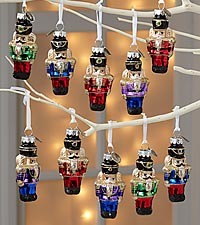 Christopher Radko Nutcracker Ornaments - 12-piece set