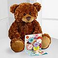 Beary Sweet Plush Bear & Pop Up Card