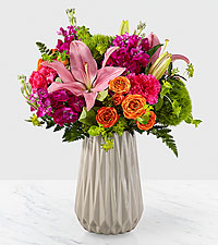 The FTD Pretty and Poised™ Bouquet