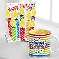 Celebration Sips Birthday Mug & Pop Up Card Gift Set