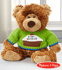 Melissa and Doug® Birthday Hugs Plush Bear